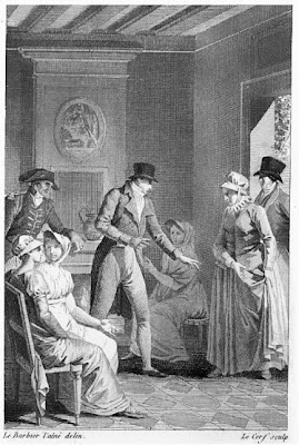Madame Duval is furious  from Evelina Vol 1 (1808)