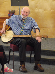 Pete Seeger, strumming and singing after all these years. He DOES have a song to sing!