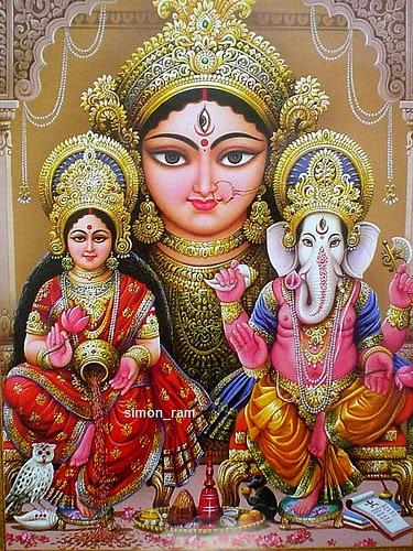 diwali wallpaper, lakshmi ganesh