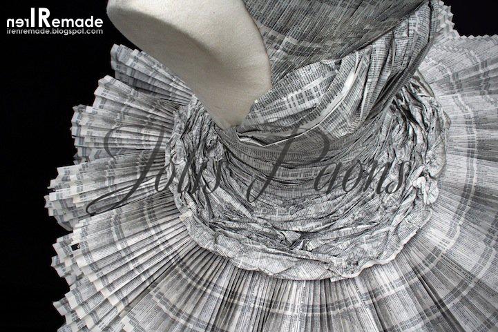 Платье из бумаги поделки