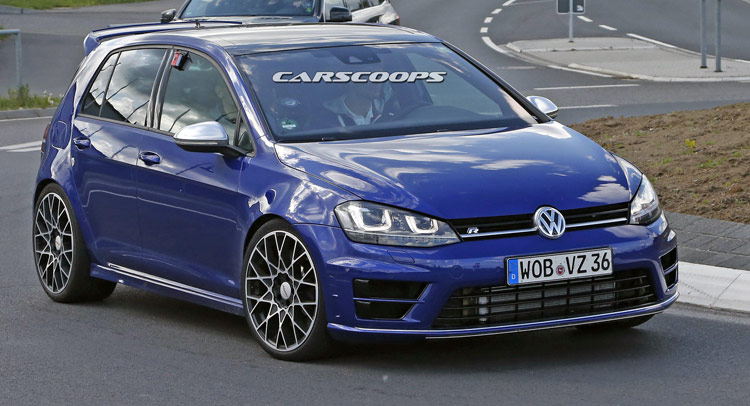spied vw nears supercar territory with golf r400 hyper hatch. Black Bedroom Furniture Sets. Home Design Ideas