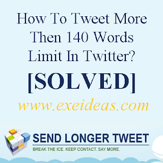 How To Tweet More Then 140 Words Limit In Twitter?