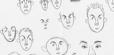 Caricature sketch - Kimi Raikkonen