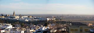Contaminación atmosférica sobre Sevilla