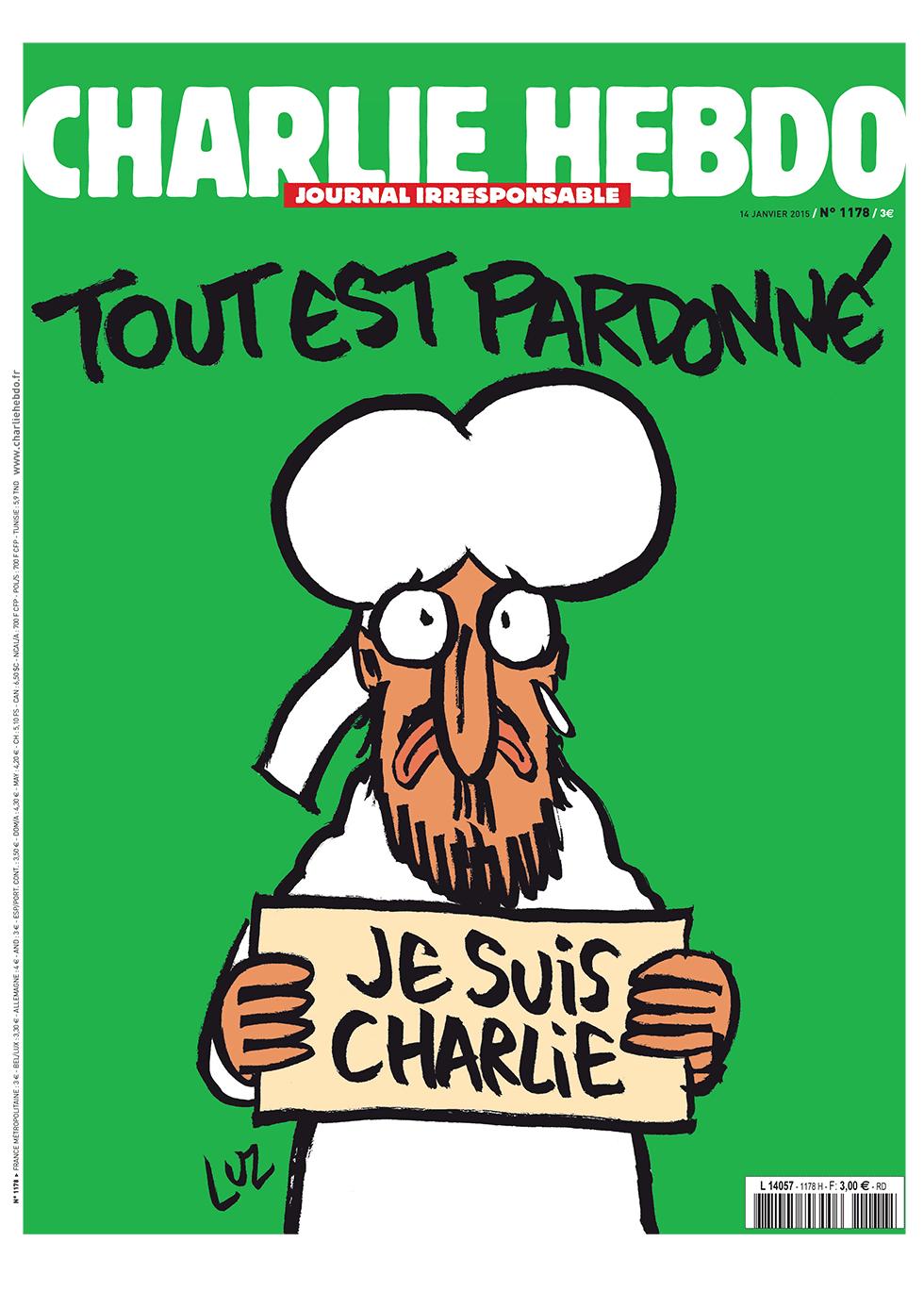 Islamophobia - Magazine cover