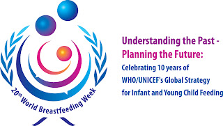 Mother Baby Child Celebrates World Breastfeeding Week 2012