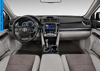 Toyota camry car 2013 dashboard - صور تابلوه سيارة تويوتا كامري 2013