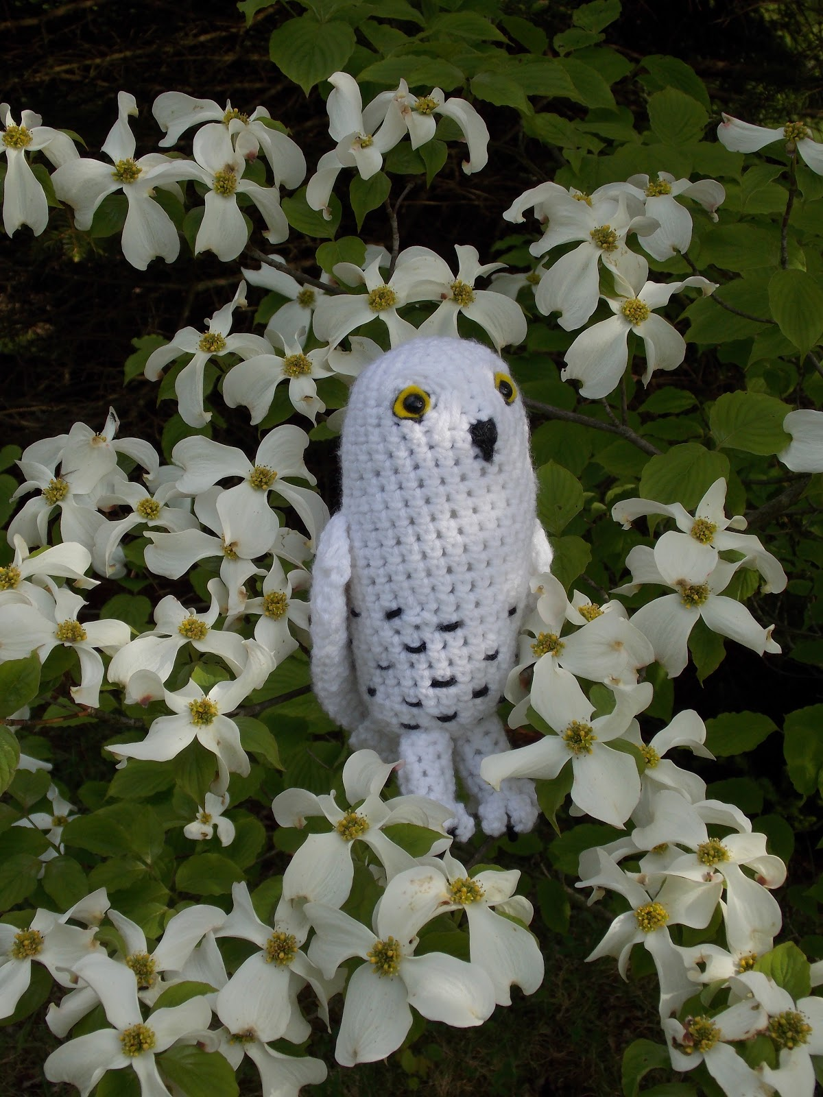 Crochet Pattern For Pikachu Doll : Great Grey Crochet: Boron the Snowy Owl