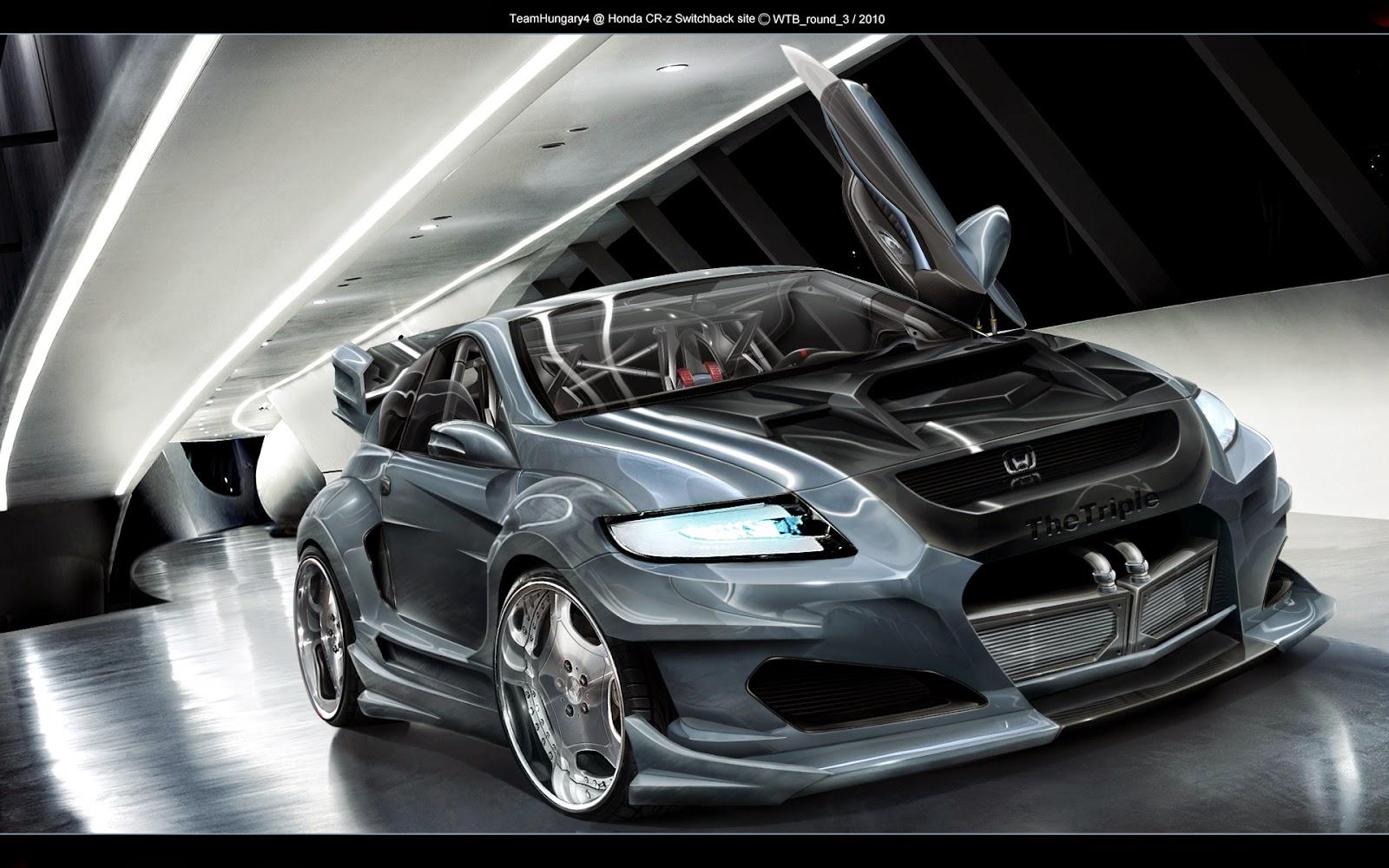 mobil sport Honda CR-Z