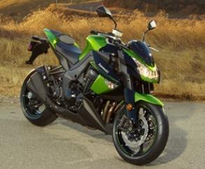 Kawasaki Z1000 motorcycles