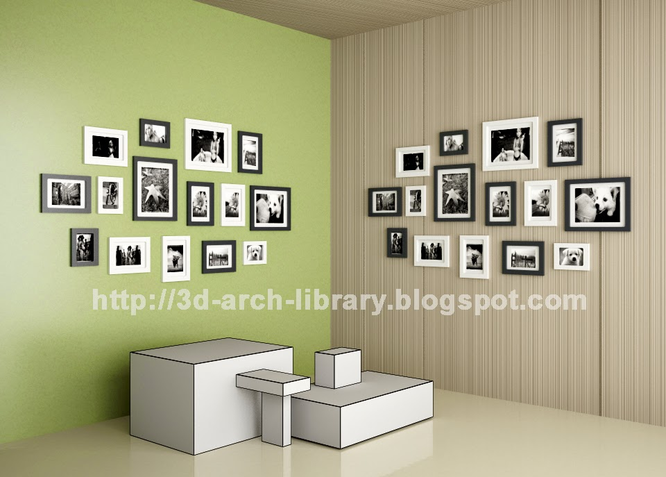 Mural Picture Frame Revit Library Revit Arch Library