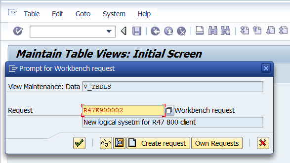 how to assign logical system in sap