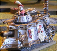 Tanque a vapor del imperio de Warhammer