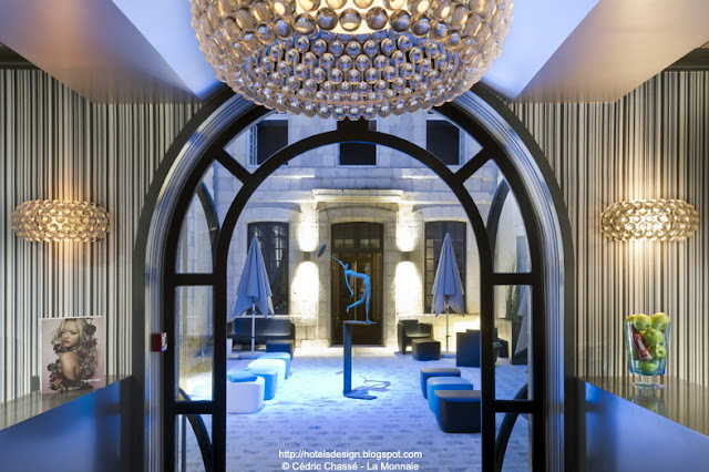 la monnaie art spa hotel by philippe lucazeau la rochelle france hotels design la. Black Bedroom Furniture Sets. Home Design Ideas