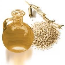 Mascarilla natural de aceite de sésamo para un rostro firme