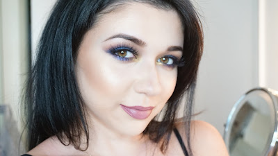 AZURE AND METALLIC ANASTASIA BEVERLY HILLS SHADOW COUTURE PALETTE TUTORIAL