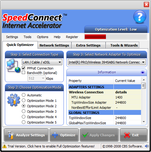 SpeedConnect Internet Accelerator 8 + Crack Full Version Download