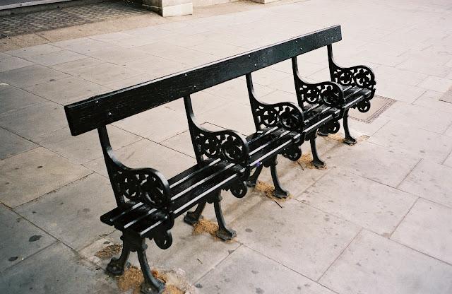 London bench Hampstead