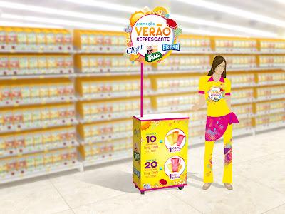 Campanha promocional de refrescos para Kraft Foods Brasil