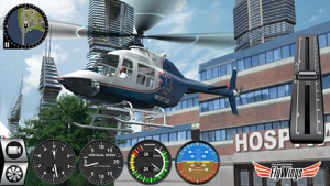Helicopter Simulator 2016 MOD APK - Screenshot -4