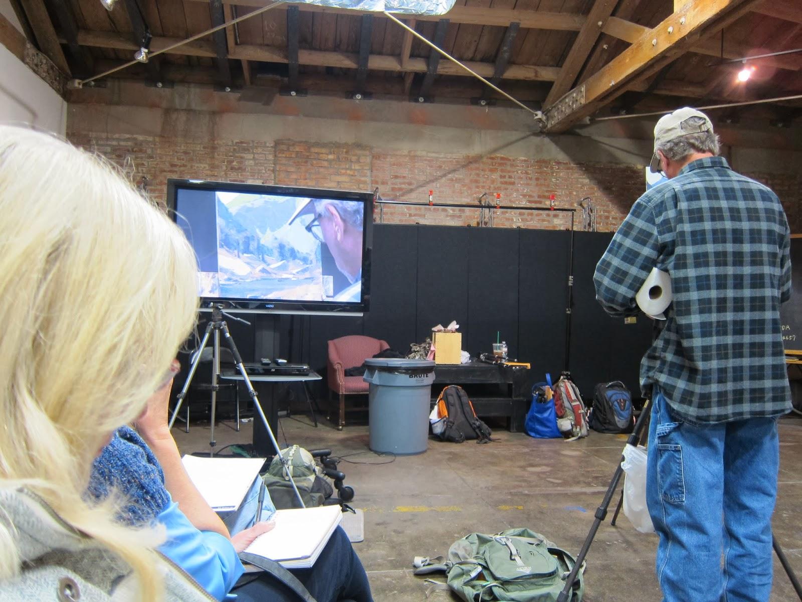 Matt Smith Painting Demo