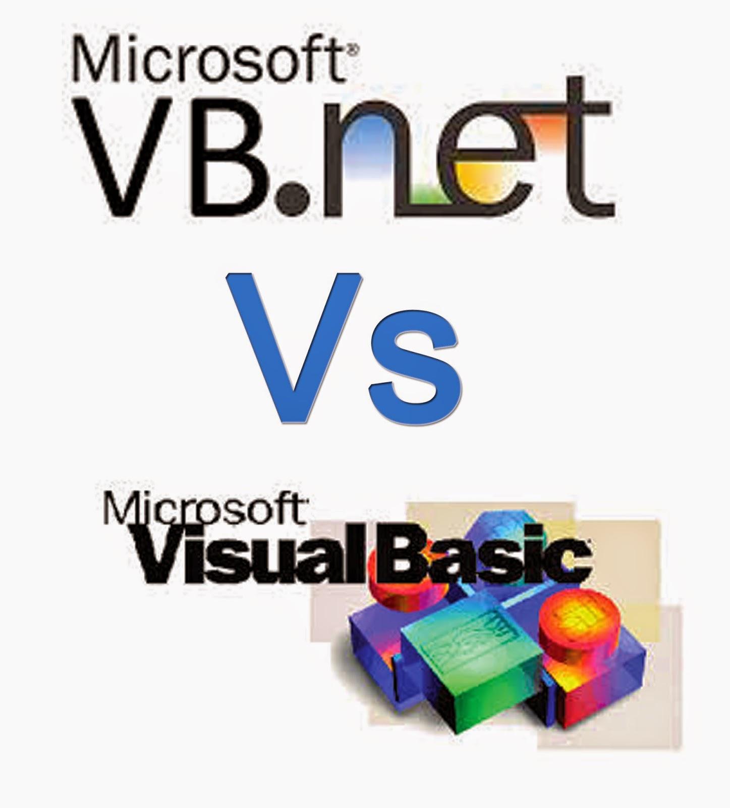 Perbedaan Vb.Net dan Vb 6