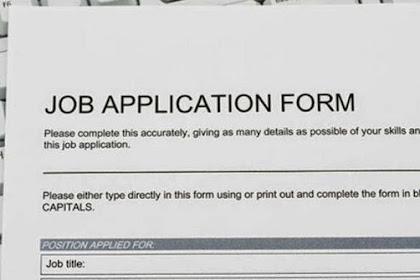 Inilah Contoh Surat Lamaran Kerja Berdasarkan Iklan