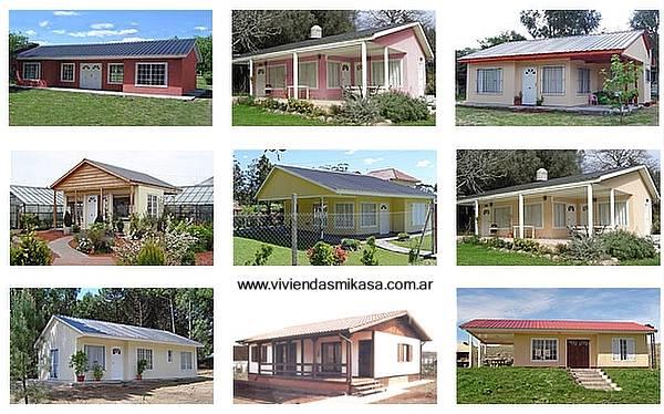 Arquitectura de casas viviendas prefabricadas en argentina - Modelos de casas prefabricadas economicas ...