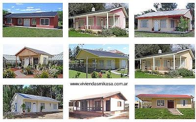 Arquitectura de casas viviendas prefabricadas en argentina for Modelos de viviendas