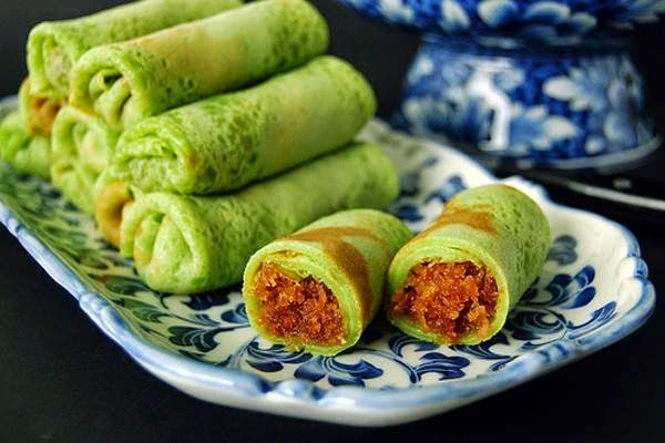 Kuih Dadar - Món bánh crepe mang phong vị Á châu