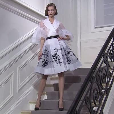 Christian Dior Haute Couture női nyáriruha - 2012-es kollekció