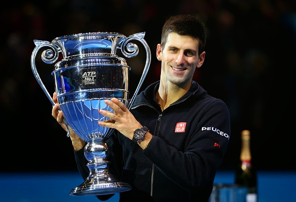 Tennis: Novak Djokovic Clinches Year-End No. 1 ATP Ranking