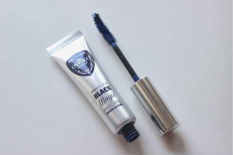 Eyeko Midnight Blue Black Mascara and Eyeko Liquid Metal Eyeliners