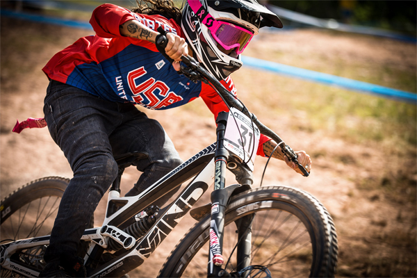 2015 Windham UCI World Cup Downhill: Qualifying Missy Giove