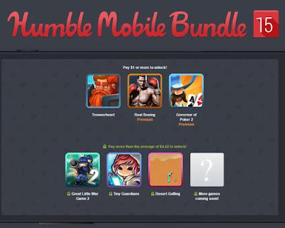 Nuevo pack de juegos para Android desde solo 1$.