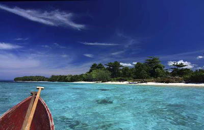 Liang Beach in Ambon