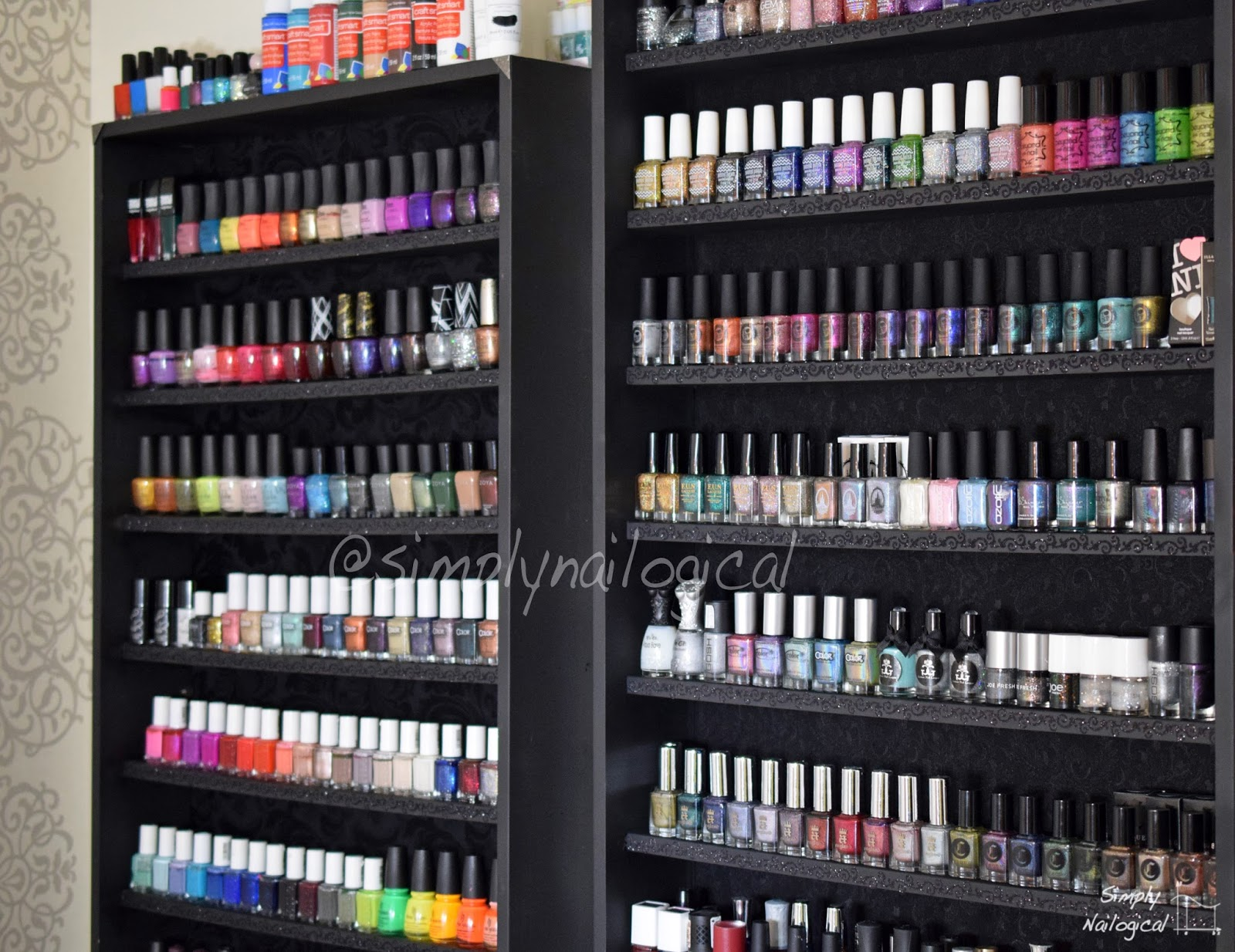 Simply nailogical stashology first shelf left and second new shelf right may 2015 solutioingenieria Choice Image