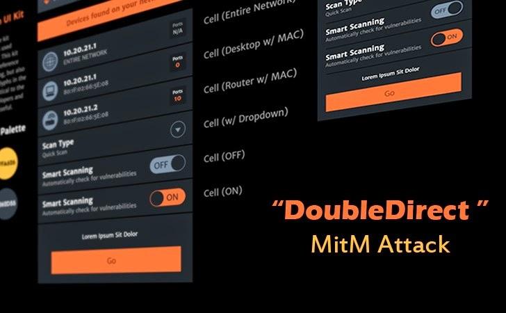 ' ' from the web at 'http://4.bp.blogspot.com/-3n1H7FDkpZU/VHB9tb_3mlI/AAAAAAAAhDM/J_vJ5L3RFZU/s1600/DoubleDirect-MitM-Attack-tool.jpg'