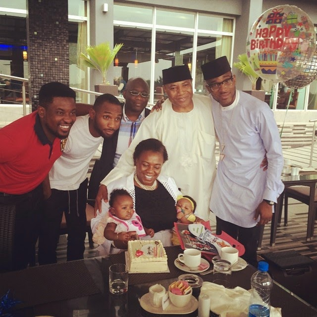 dbanj mother birthday