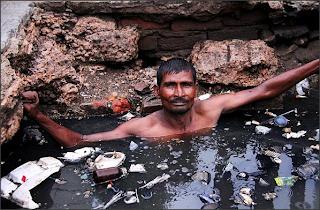 Pekerjaan Paling Kotor Jijik Sampah Longkang Sumbat Bersih Sumbat Buang