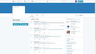 "Screenshot of ""Manuel Diaz"" Twitter account"