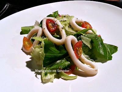 33 Restaurante na Salvador Restaurant Week 2015: Insalata Calamari