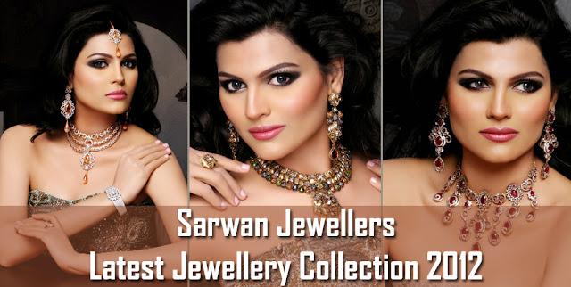 Latest Jewellery Designs 2012 By Sarwan Jewelers