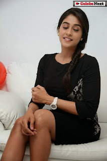 Actress Regina Candra Latest  Pictures in Black Short Dress  0113.jpg