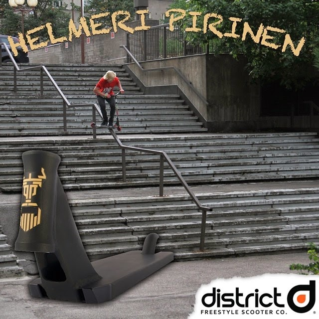 District Helmeri Scooter Deck District Helmeri Decks Back in