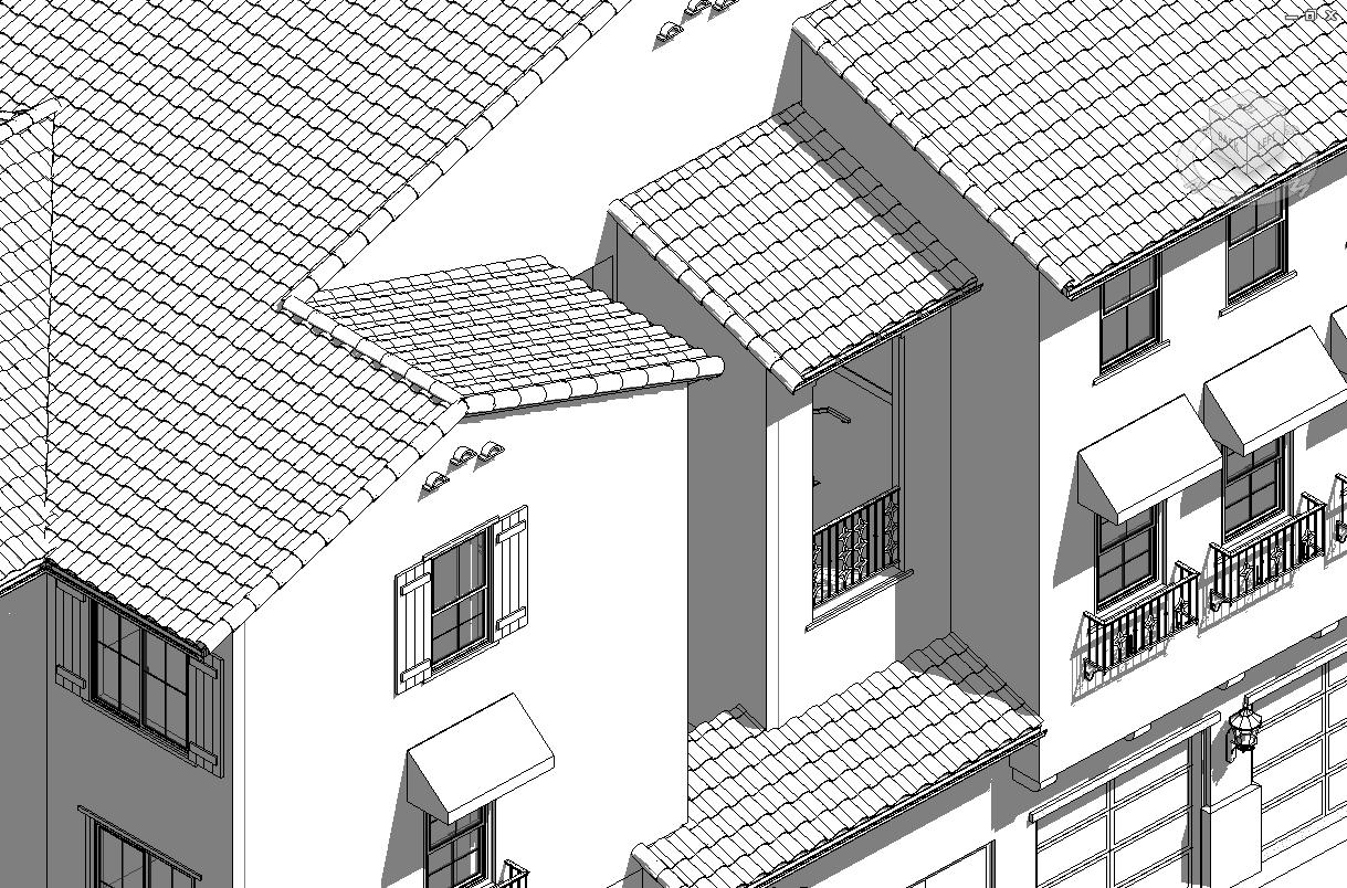 Bim Aficionado Pattern Based Curtain Panel Roof Tile