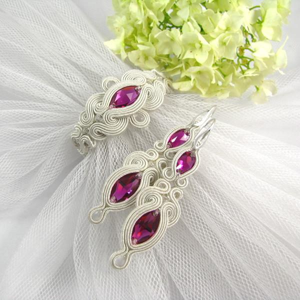 biżuteria ślubna sutasz swarovski