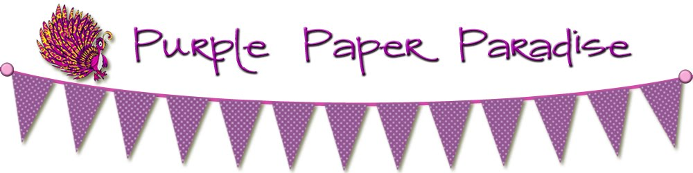 Purple Paper Paradise