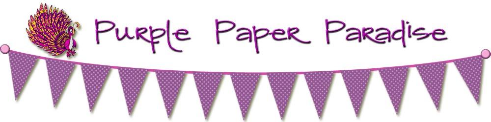 Purple Paper Paradise