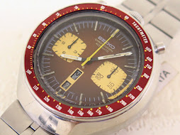 SEIKO CHRONOGRAPH BROWN BULLHEAD - AUTOMATIC 6138
